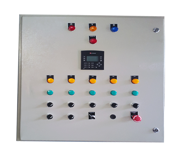 Hopper Weighing Control Panel
