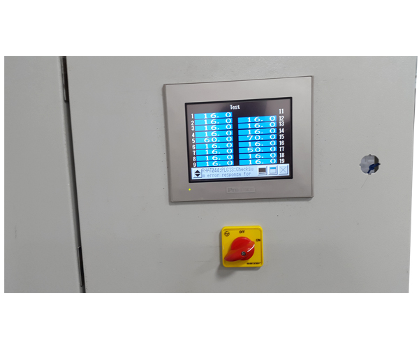PLC based control panel for winery